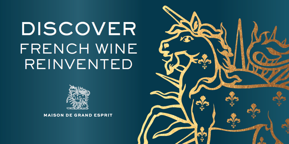 discover french wines reinvented hero banner maison de grand esprit