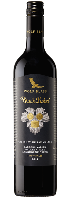 Wolf Blass Bottle Hero Shot Black Label