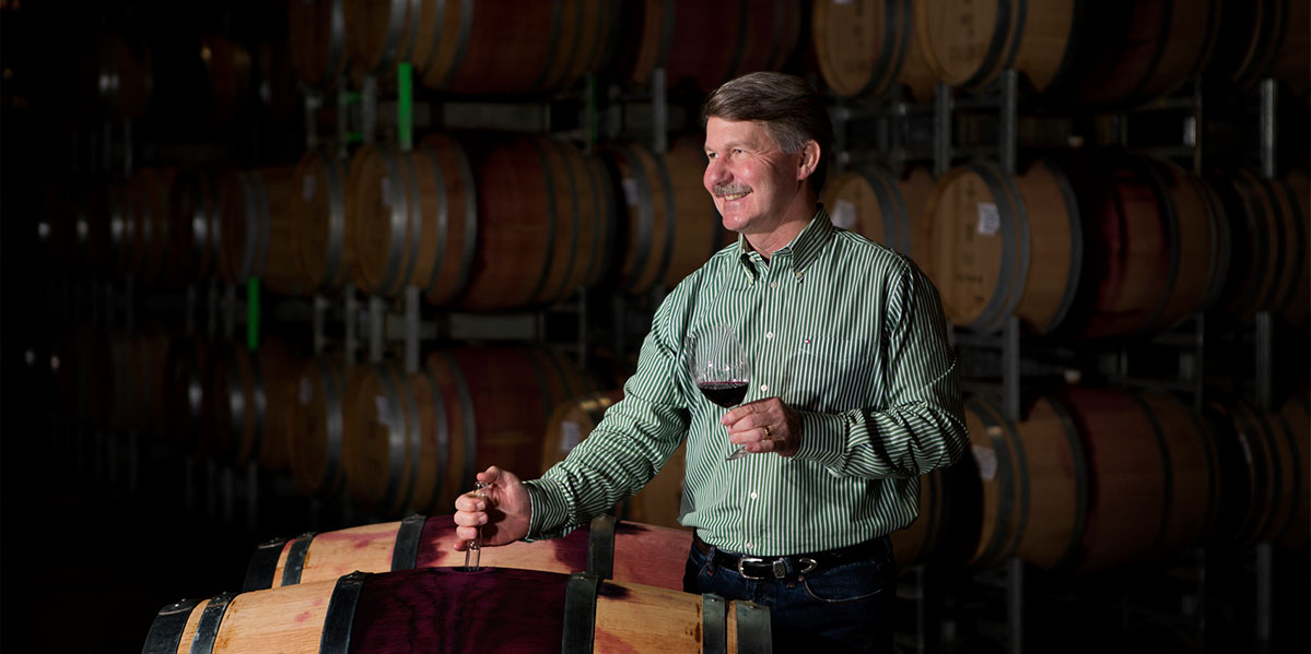 Wolf Blass Winemaker Chris Hatcher