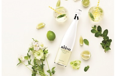 A'tivo Spritzed White with a twist of lime