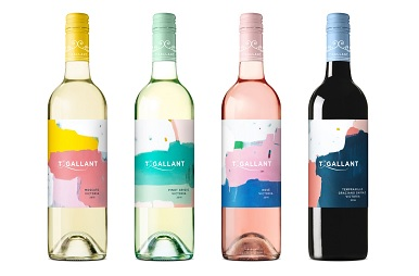 T'Gallant still wine bottles