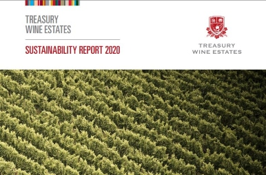 Treasury Wine Estates 2020 Sustainability report