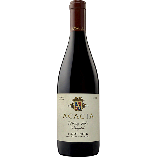 2012 Acacia Winery Lake Vineyard Pinot Noir 750ml Bottle