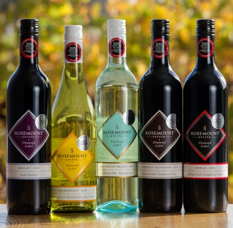 Rosemount Diamond Label range of wines