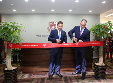 Shanghai Office Ribbon Cutting