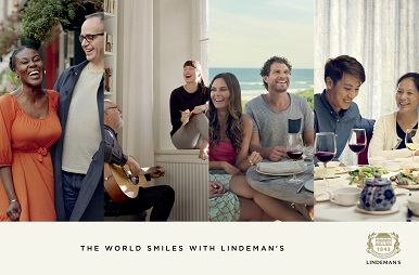 The world smiles with Lindeman's